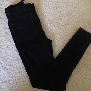 FREE PEOPLE black skinny jeans